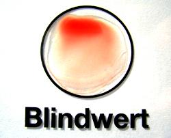 Blindwert (Kontrolle)