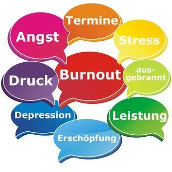 Burnout Sprechblasen